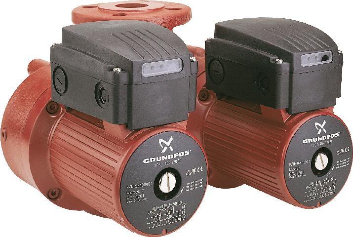 Сдвоенный циркуляционный насос Grundfos UPSD 40-60/2 F