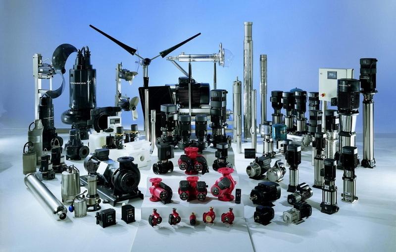 Виды насосного оборудования